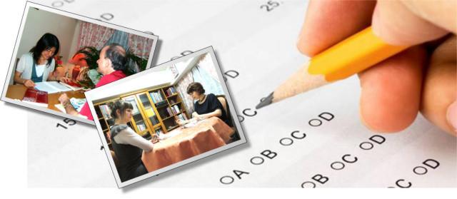 試験準備コースでは、国際的な入学試験や日本の言語試験、またヨーロッパの大学への入学試験準備を提供しています。