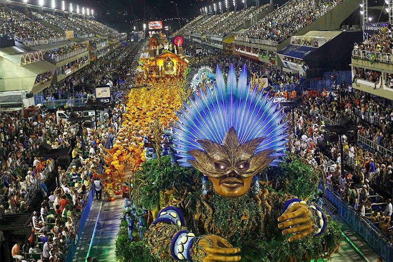 Sambodromo a Rio de Janeiro