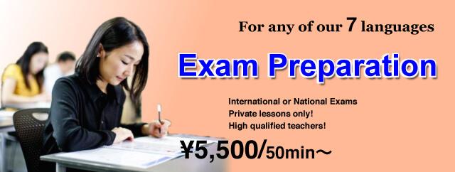 Preparativos for examination course at EuroLingual