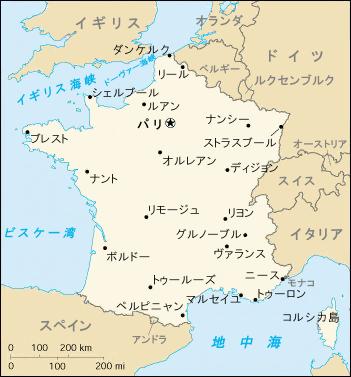 フランス地図, EuroLingual, 大阪梅田