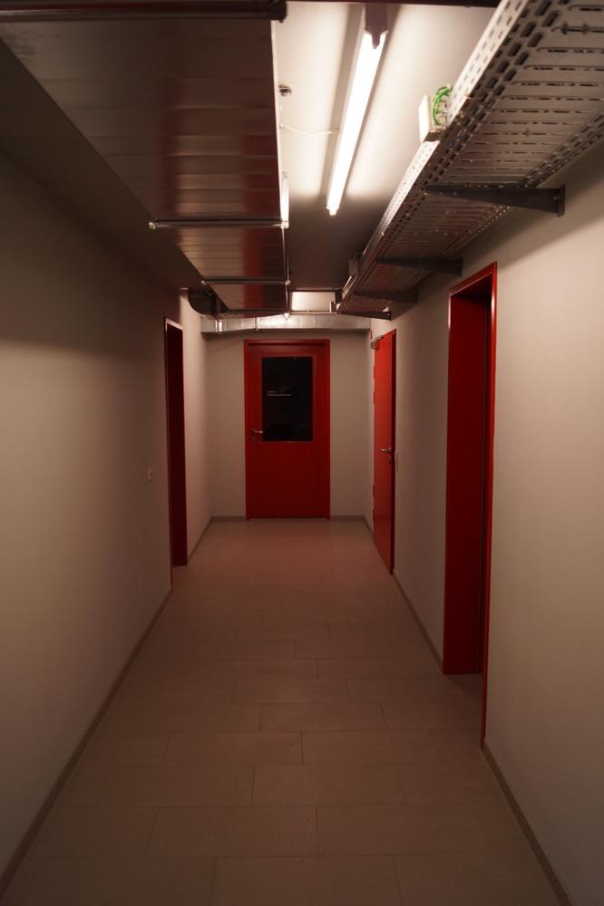 Gang Untergeschoss