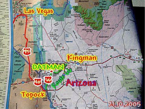21.10.2005 Las Vegas - Kingman