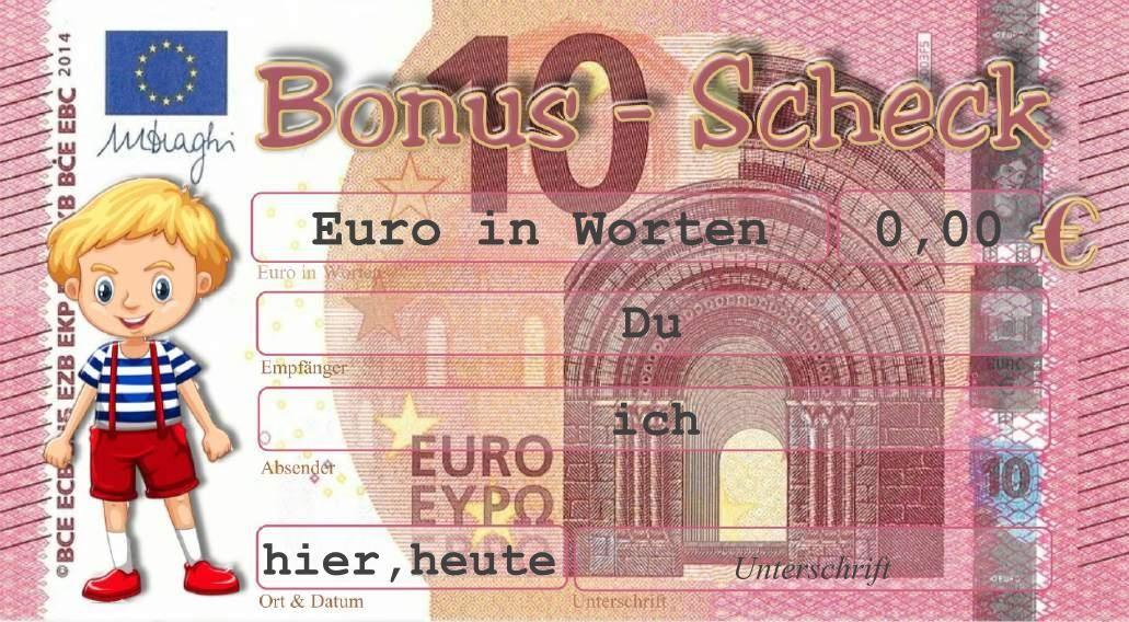 Ausdrucken schein 50 euro zum