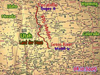 4.10.2005 Pocatello - Green River