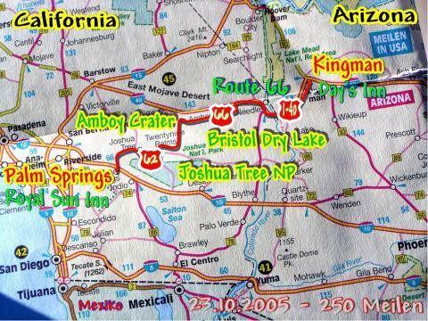 23.10.2005 Kingman - Palm Springs
