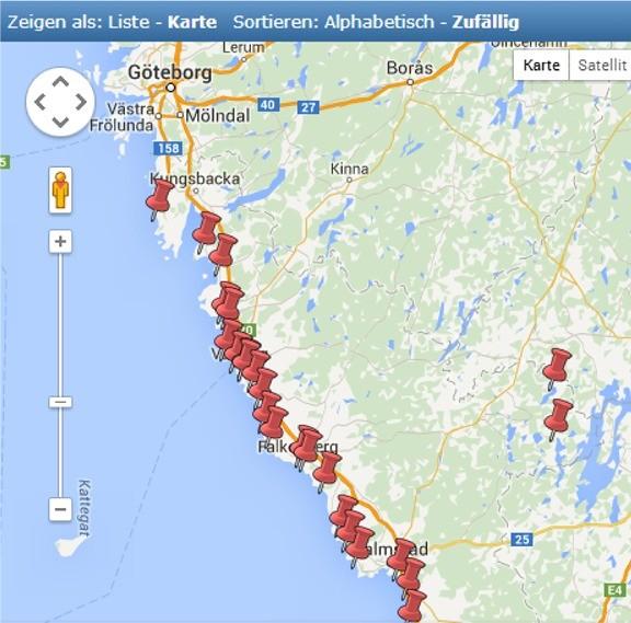 Camping in Halland/Westküste Schweden - klick an.