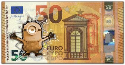 Euro-Minions ( am PC mit Texten ergänzen)
