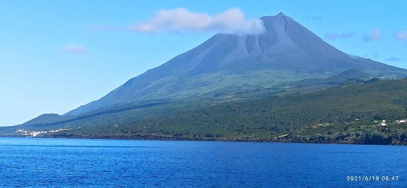 Der Berg Pico...fast wolkenfrei.