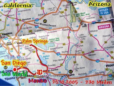 24.10.2005 Palm Springs - San Diego