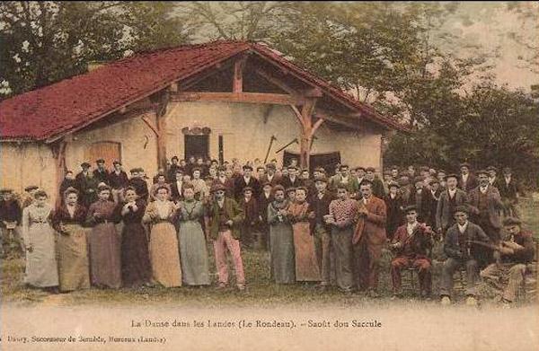 BOHA! 13 (BdG) : Carte Postale F. Bernède 1900 colorisée le Rondeau