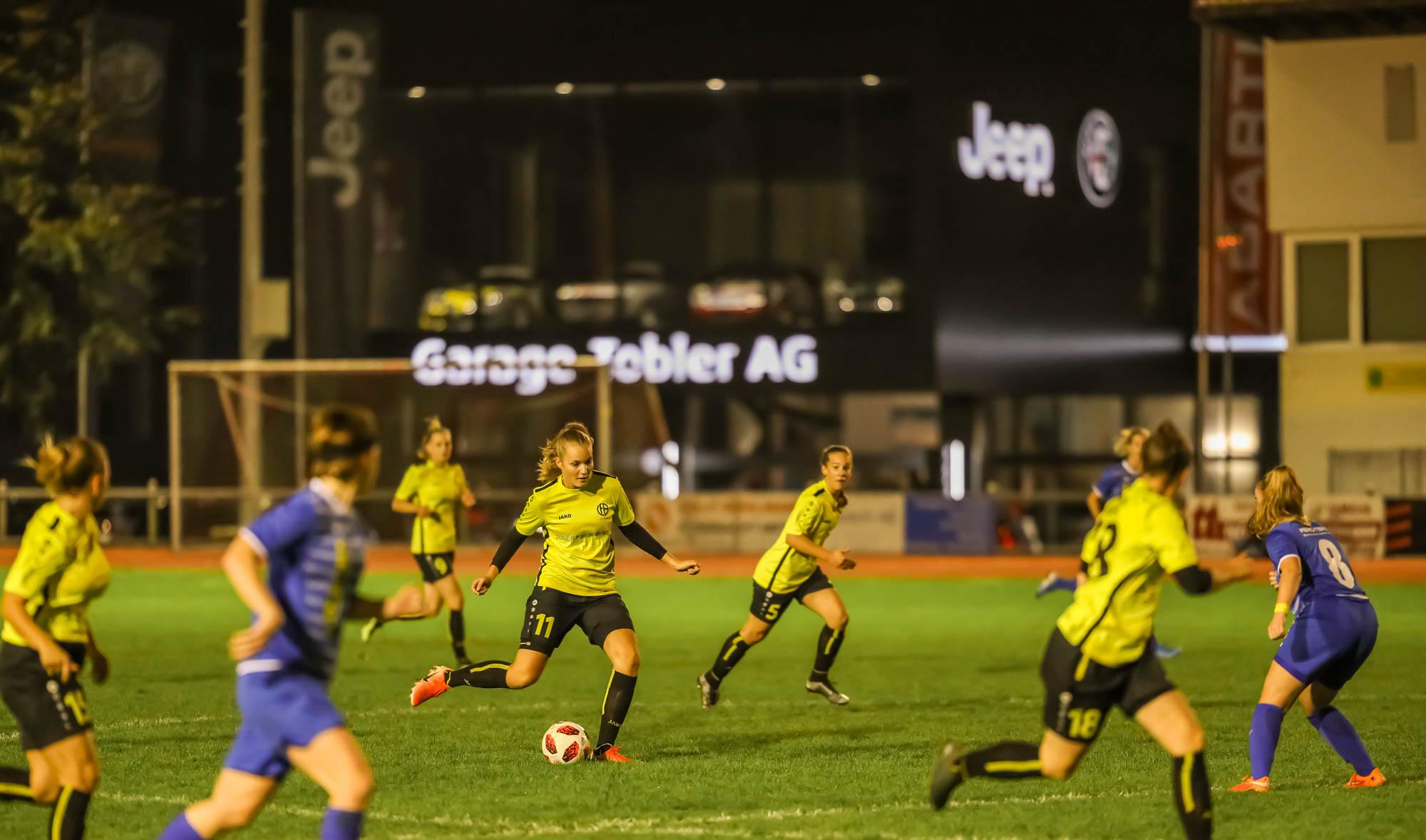 Frauen 1 -Niederlage gegen den Tabellenführer