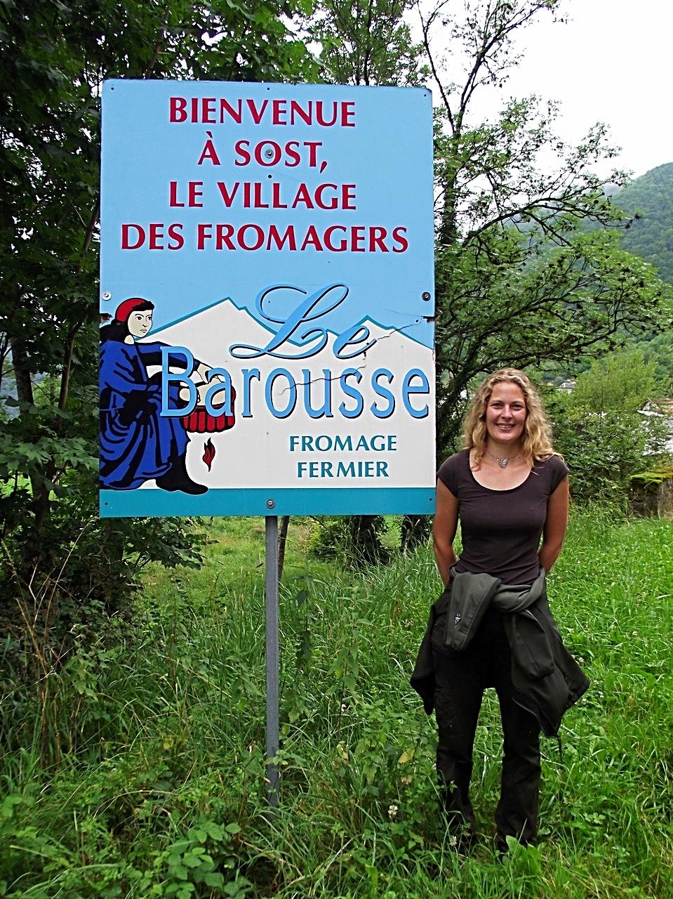 """Sost, le village des fromagers et d'un fromage fermier au lait cru:""""Le Barousse"""""""