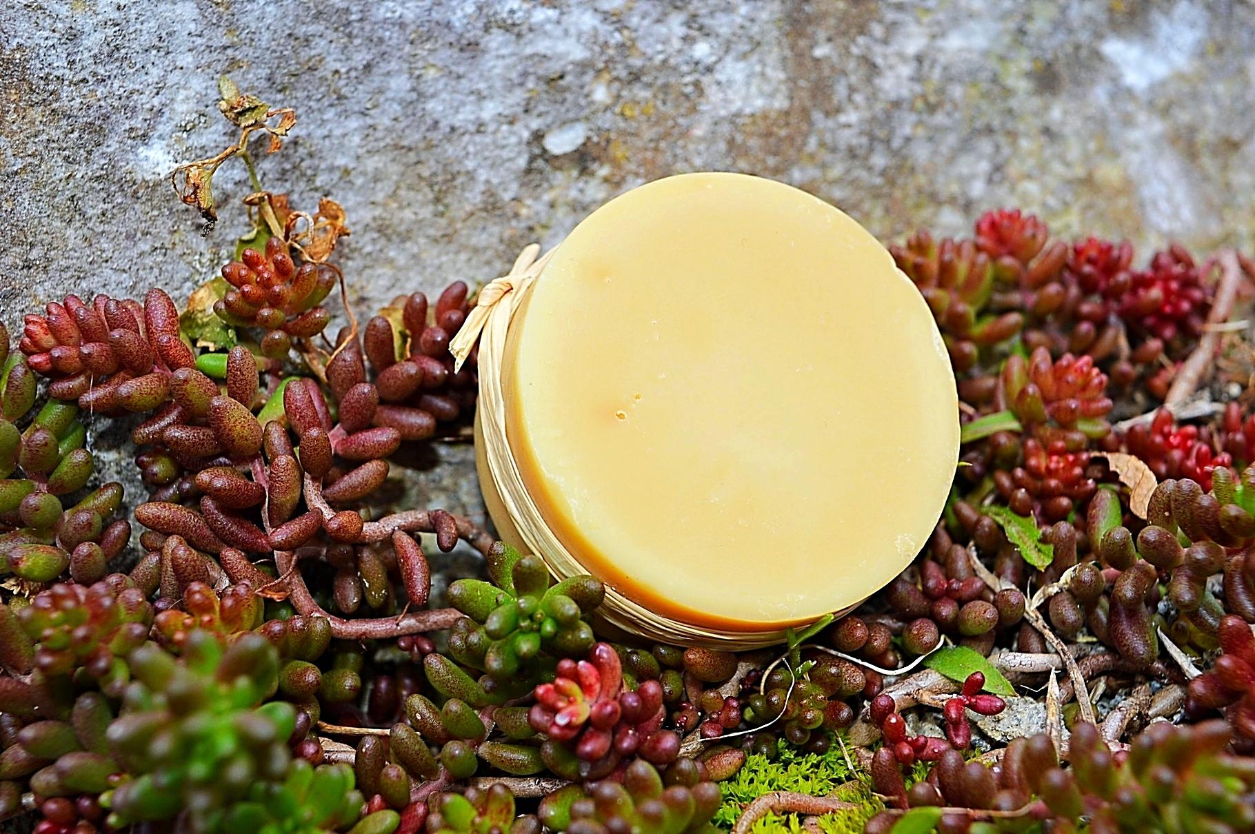 Le savon aux 70% d'huile d'olive.