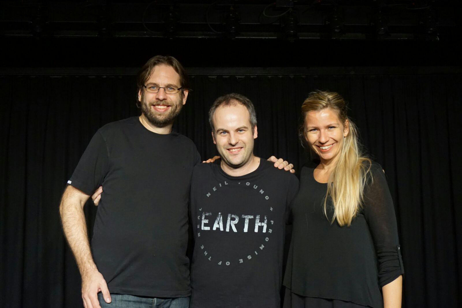 Mit Michael Auernigg im Theater am Alsergrund