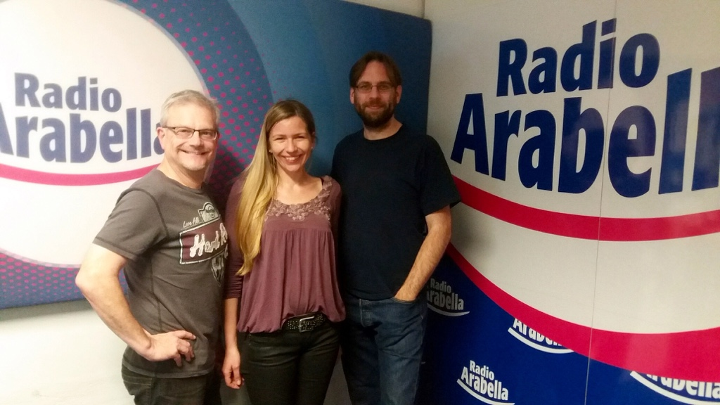 Interview bei Radio Arabella