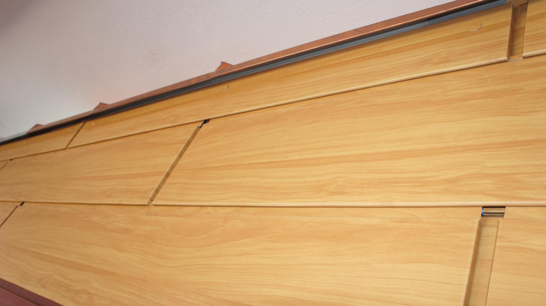 Fassaden Sidings - Holz hell