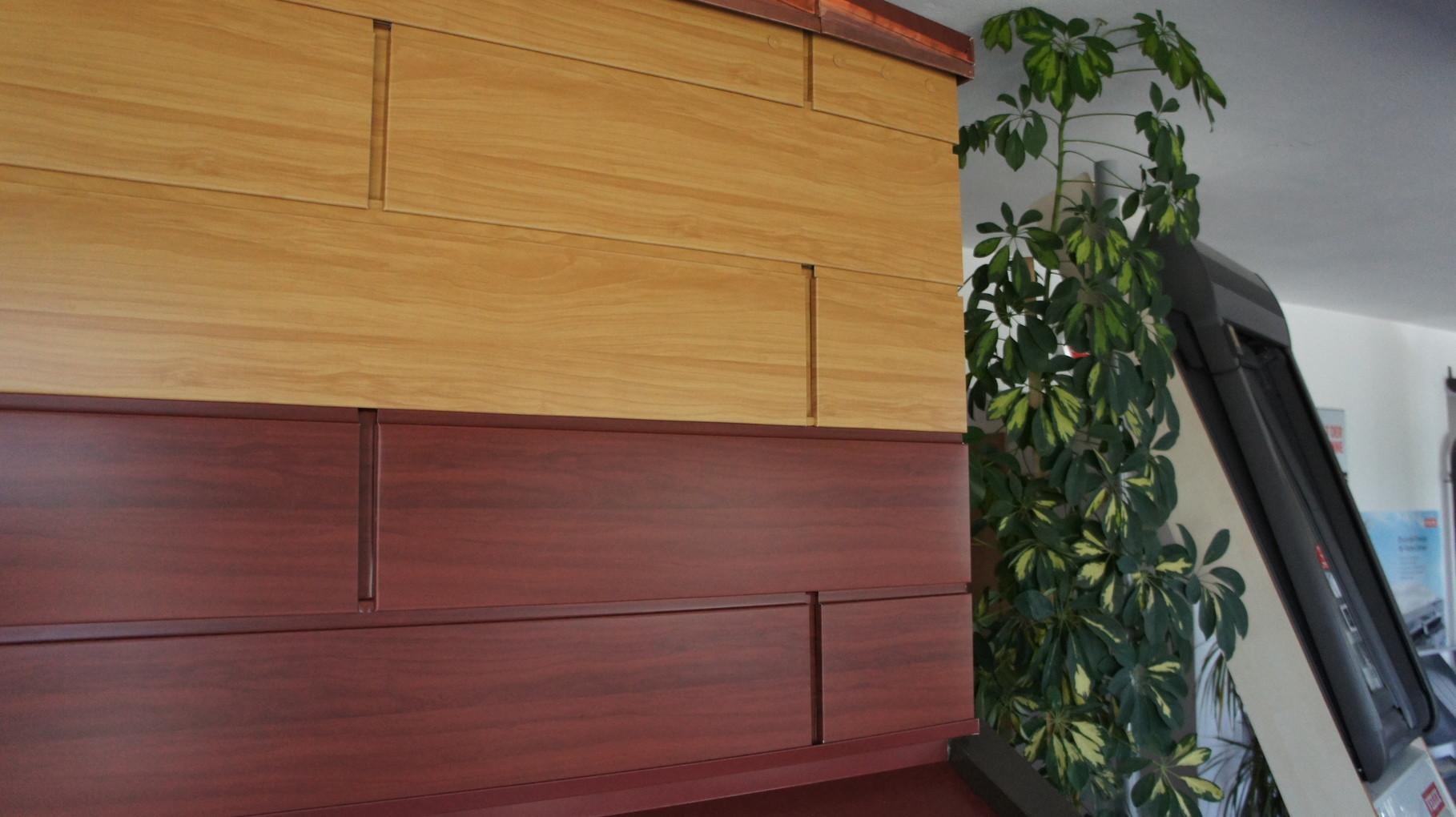 Fassaden Sidings - Holz hell / Holz dunkel