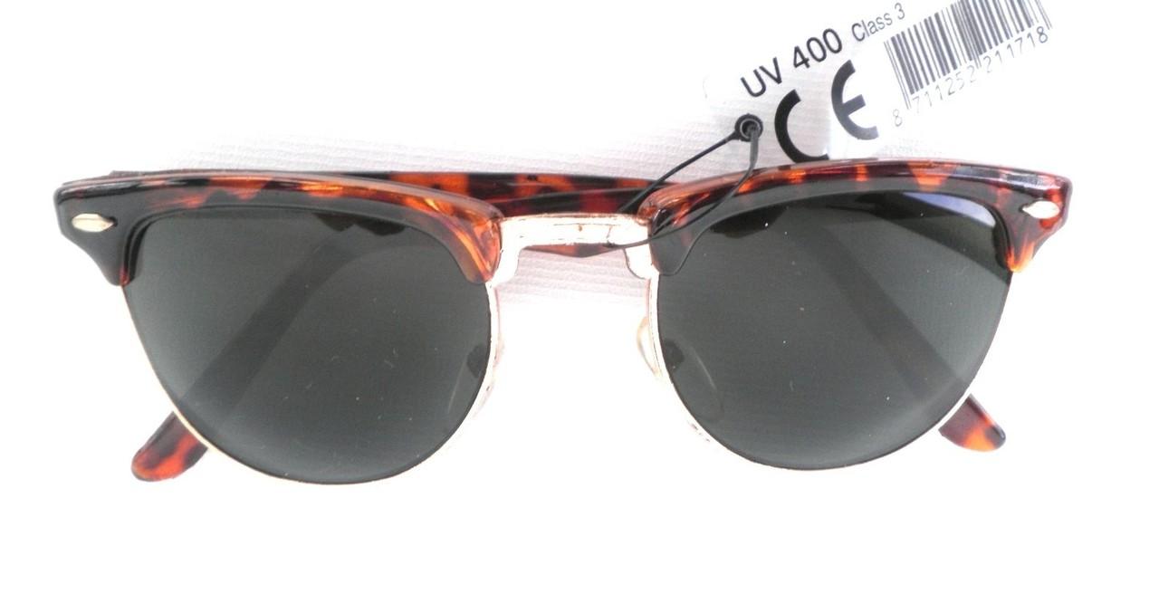 Retro Sonnenbrille 80er Jahre Braun/Graugrün Strasssteine Vintage Sonnenbrillen qZbsf8UL