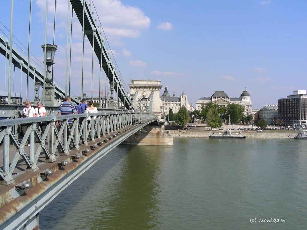 Széchenyi lánchid - Kettenbrücke