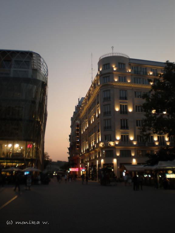 abendliches Budapest