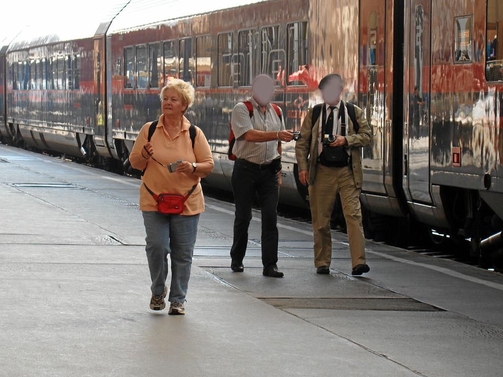 Budapest-Keleti Ankunft per Railjet um 09:49 Uhr
