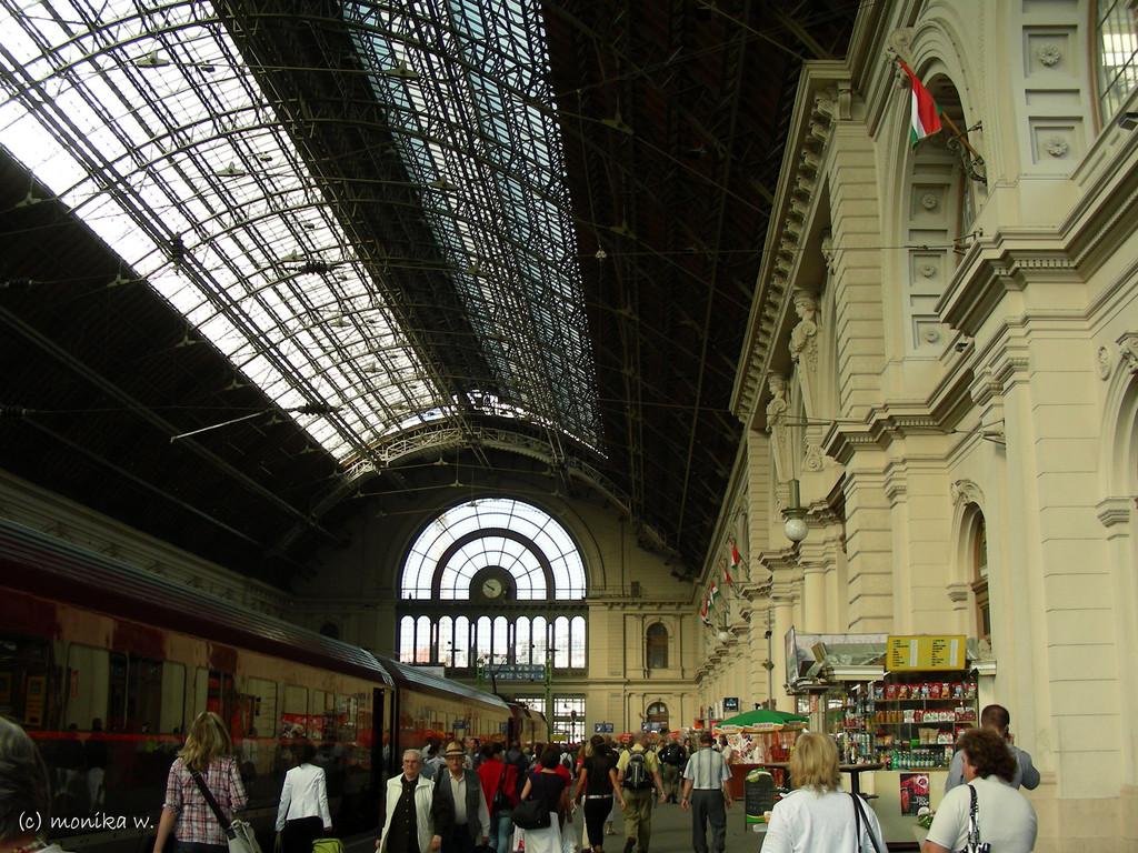 Ostbahnhof - erbaut 1884