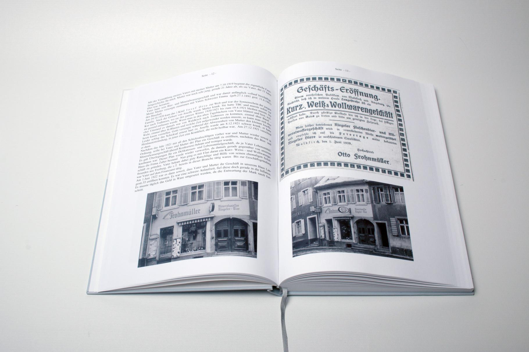 Personaliserter Buchdruck
