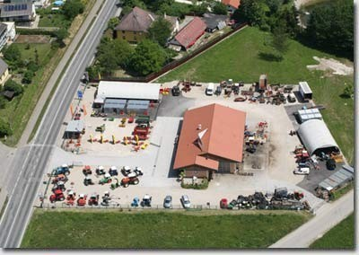 Luftaufnahme des Technikcenter Gruber