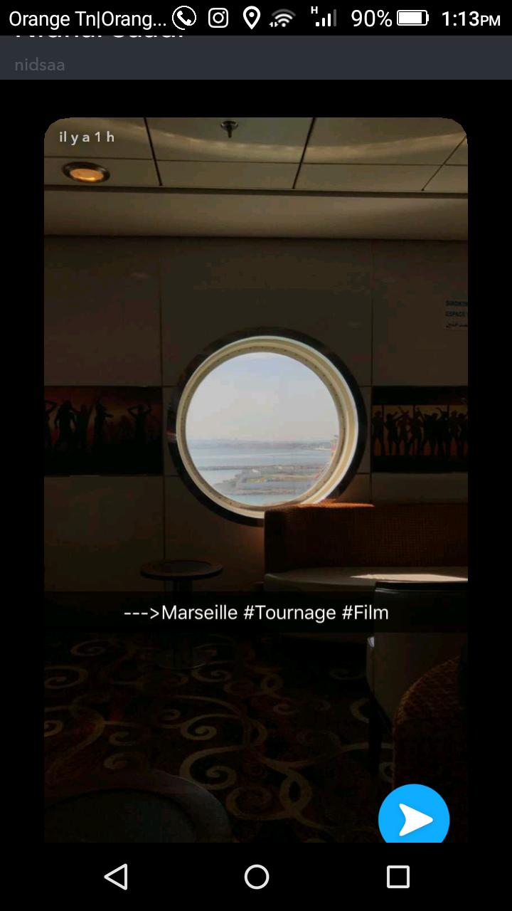 Tournage à Marseille