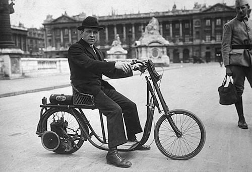 Vélauto de 1919 Monet & Goyon