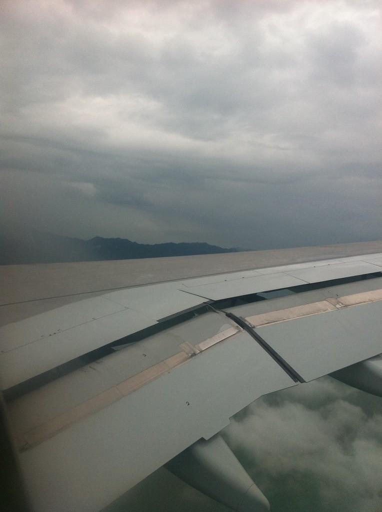香港上空 with 翼