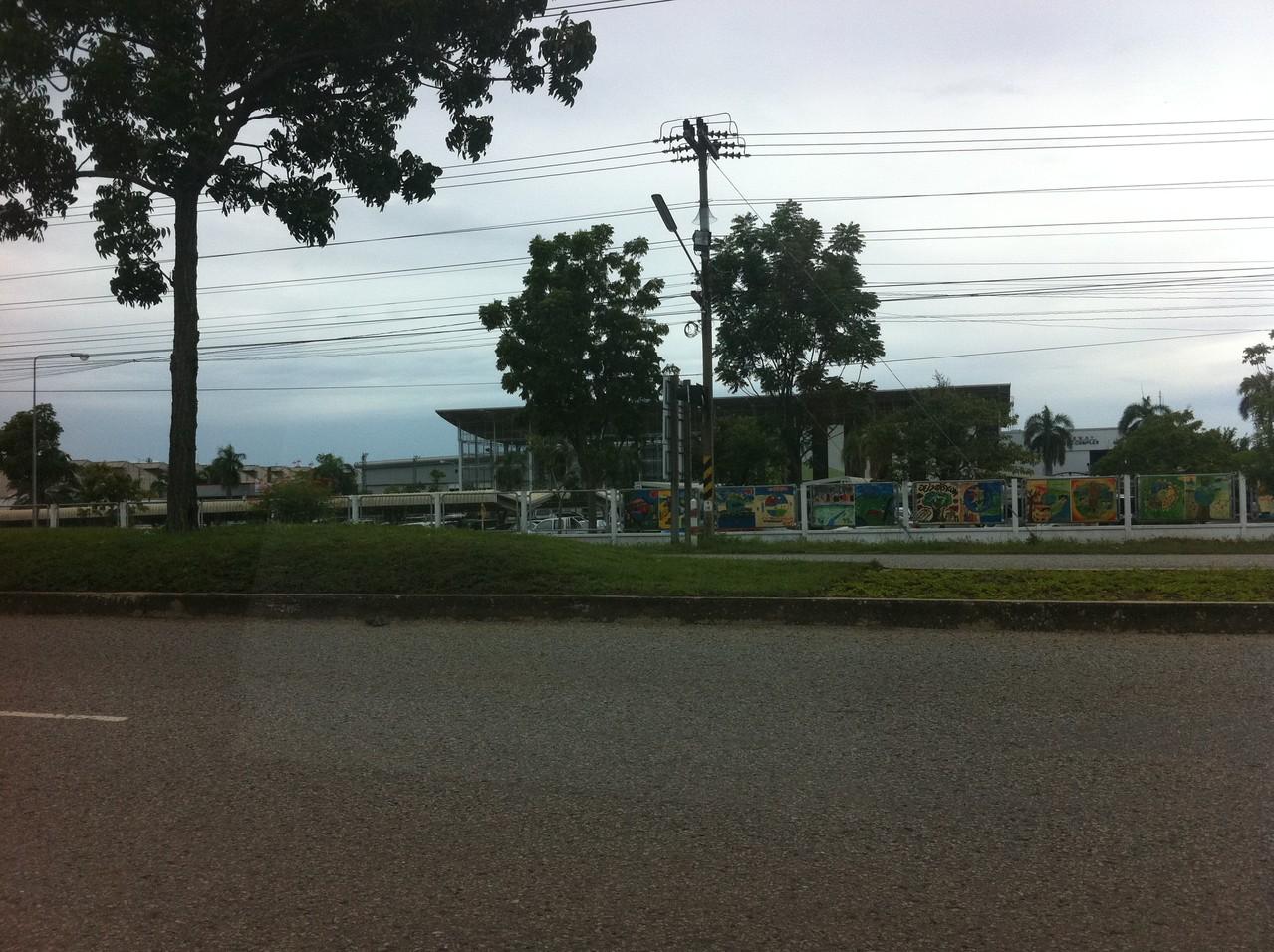 バンコク郊外のゴルフ場