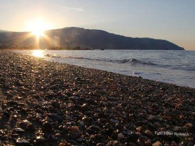 Der Strand von Mongiove - nur einen Steinwurf weit entfernt.