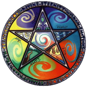 cc by Nyo - Wiccan five elements