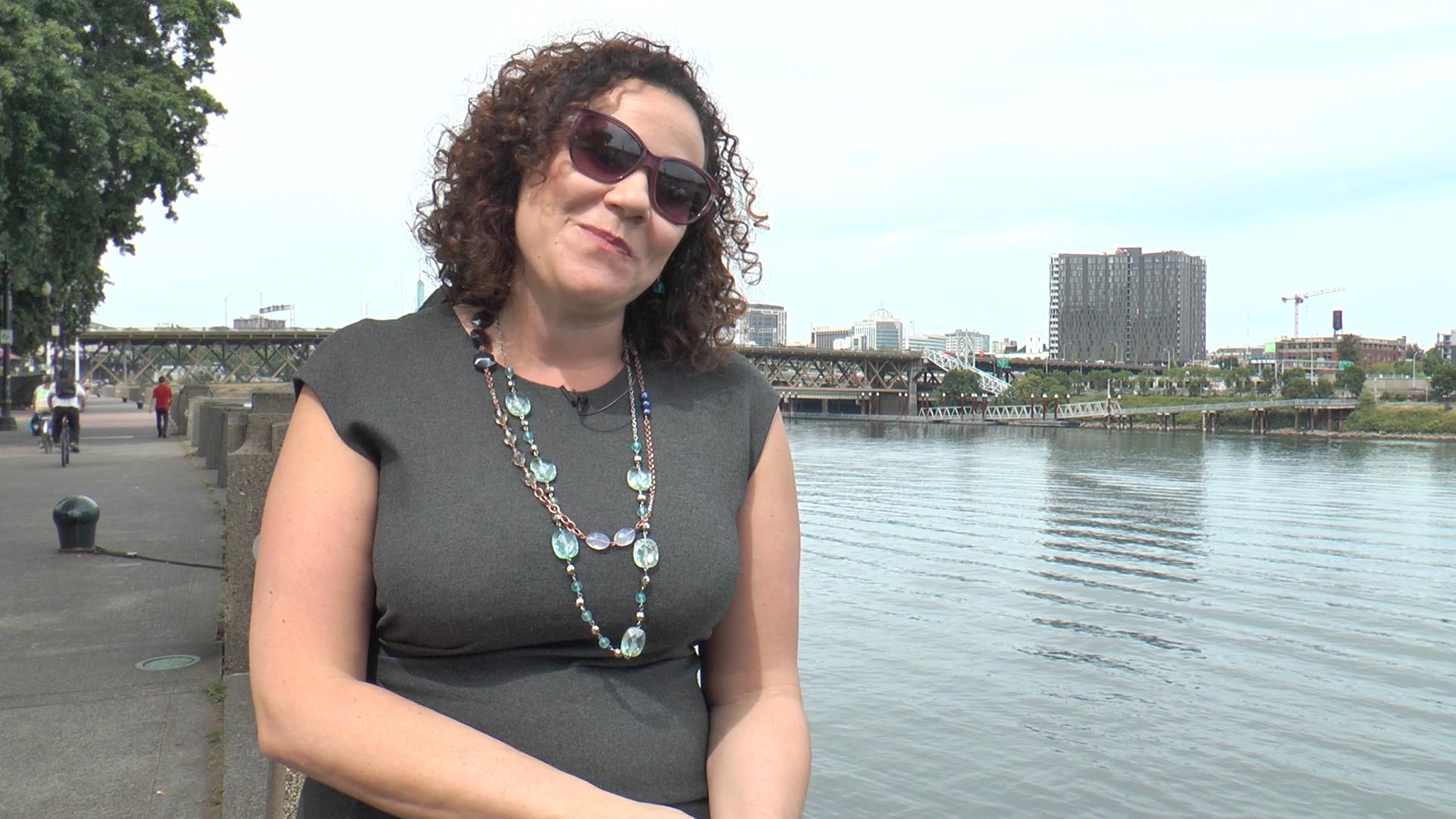 Wenn Trump kommt, wandere ich aus nach Kanada, sagt Rima Ghandour aus Portland