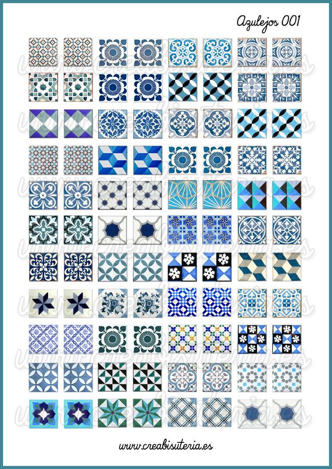 Im genes de azulejos vintage tienda de material para bisuter a - Azulejos vintage ...