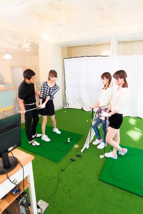 ゴルフは基礎さえ学べば簡単ですよ・・