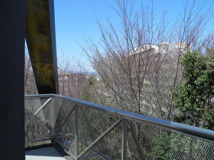 展望台冬場の眺望⑨