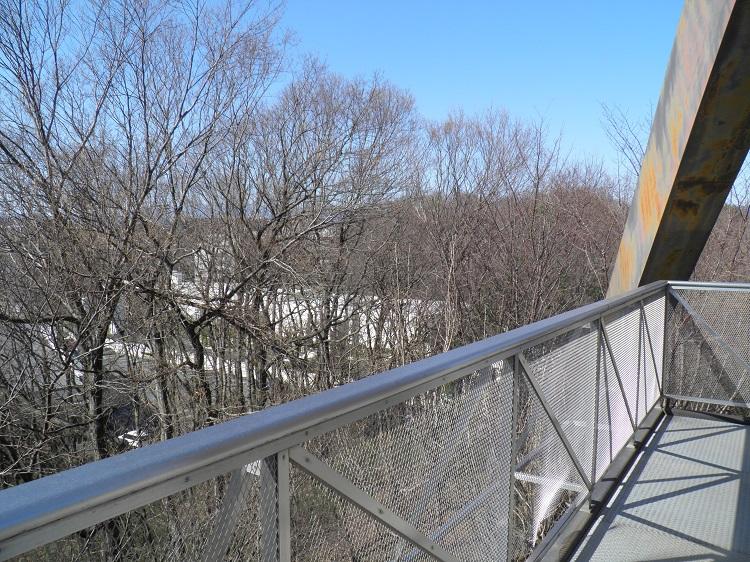 展望台冬場の眺望⑦