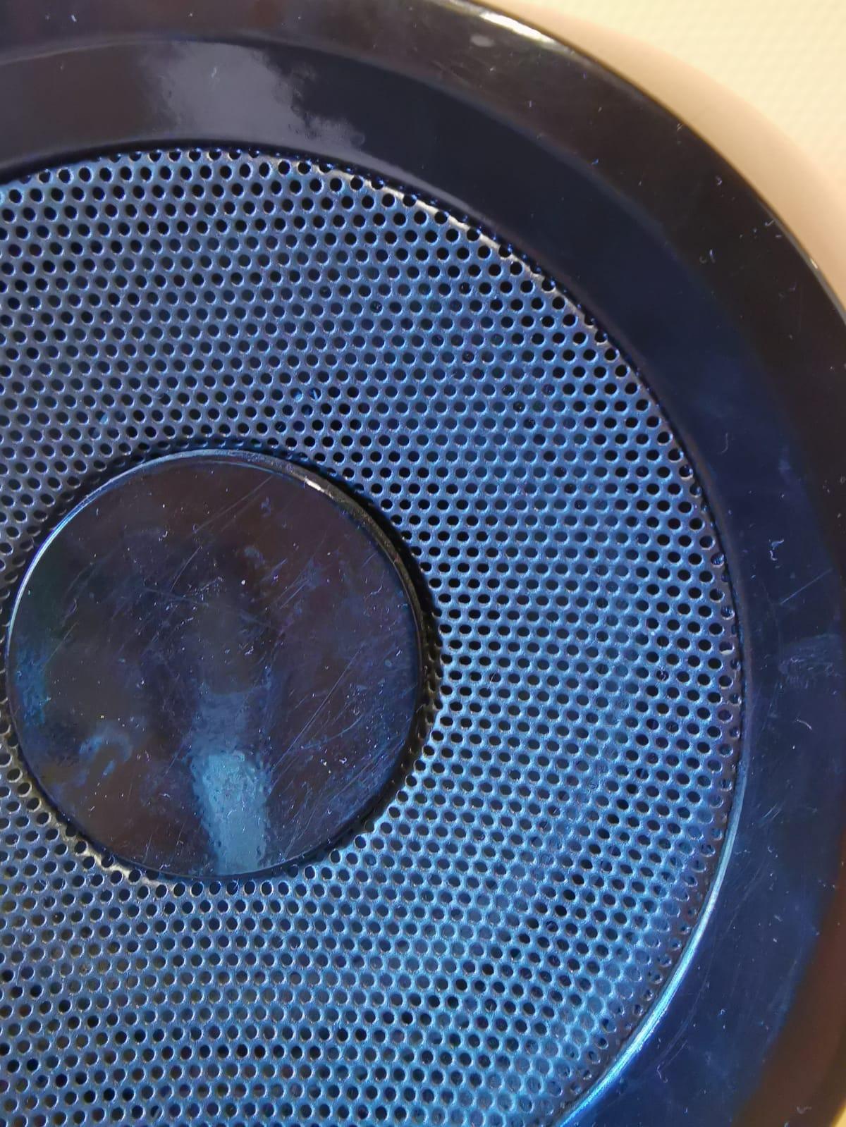 Der Lautsprecher vom Radio