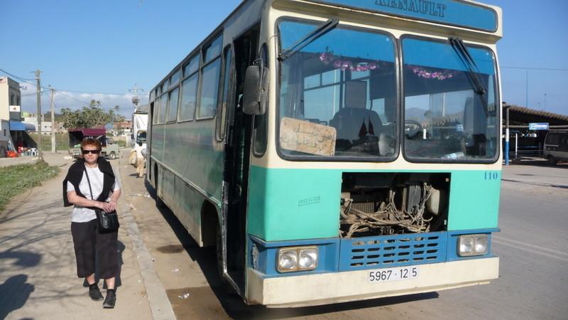 21/02/2009 Le Bus Martil / Tétouan