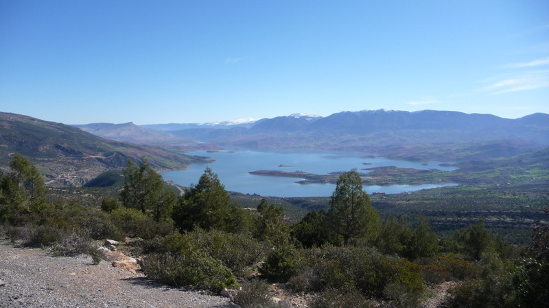 13/02/2009 Le lac de Bin el Ouidane