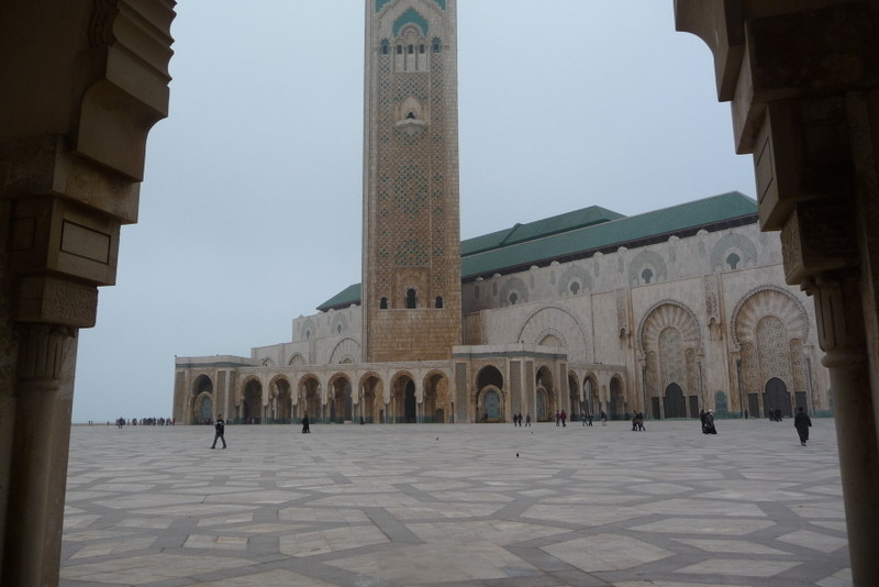 14/02/2009 La mosquée Hassan II de Casablanca
