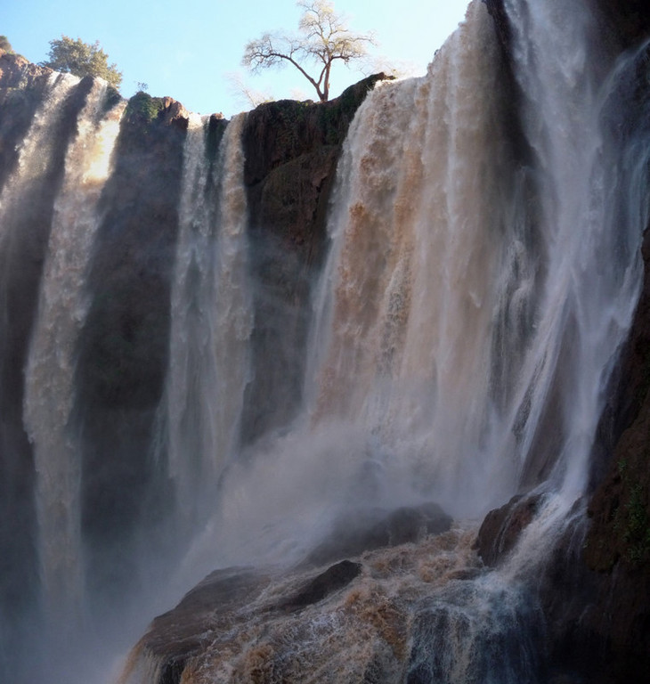 12/02/2009 Les cascades d'OUzoud