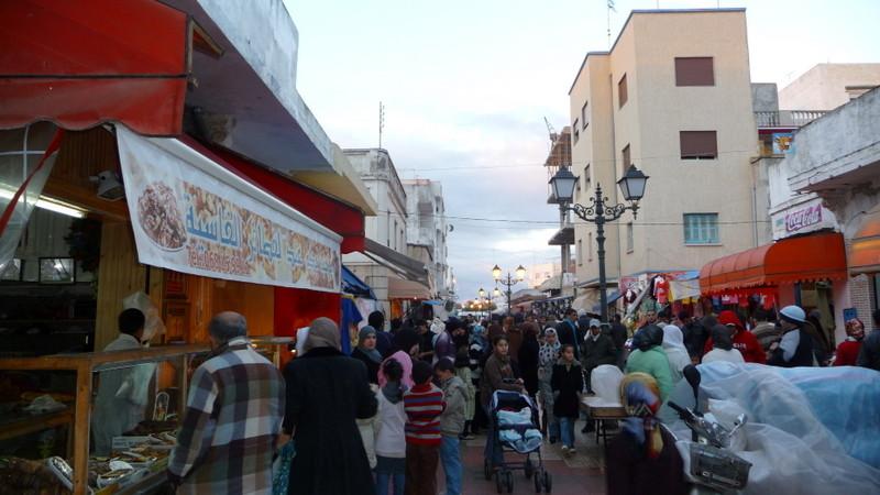 11/01/2009 Martil (Le premier Souk au Maroc)
