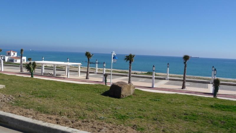 23/02/2009 Dernière image du Maroc entre Martil et Ceuta