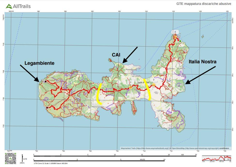 Come partecipare al censimento delle discariche abusive all'Isola d'Elba
