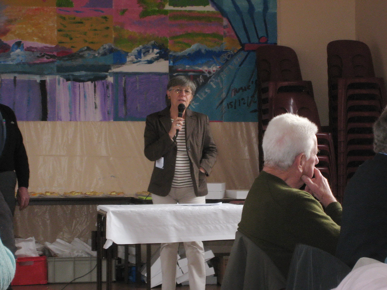 Mme Claudine BOEGEAT Adjointe Conseil Municipal