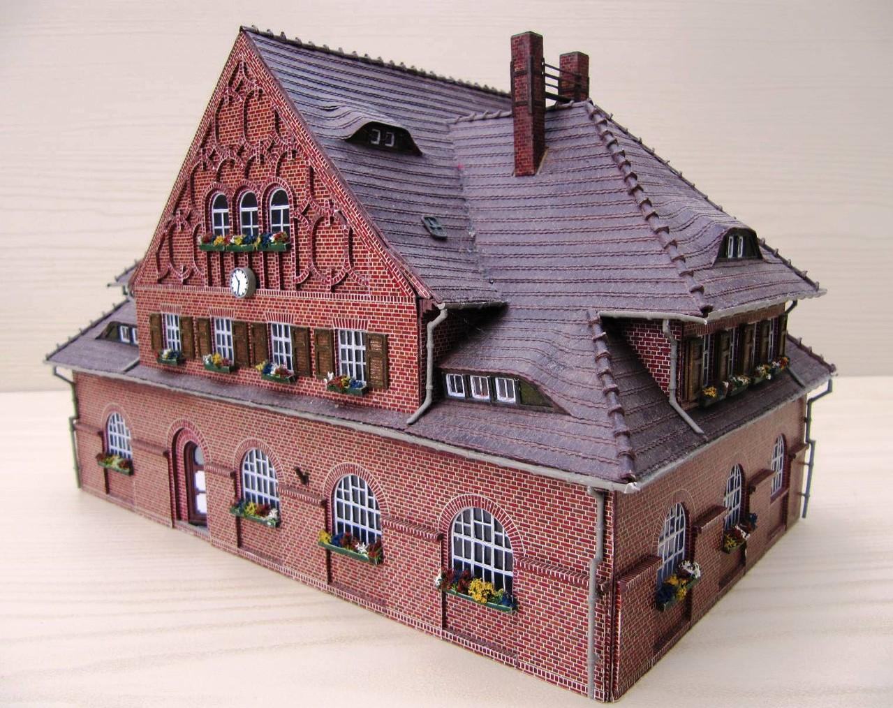 (c) W. Fehse - reiche Dachgliederung 1:87 (H0)