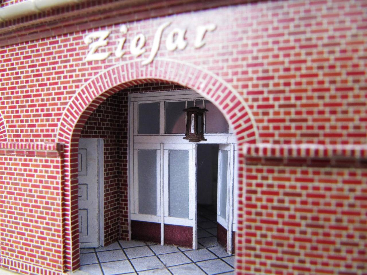 (c) W. Fehse - Laterne im Eingang 1:87 (H0)